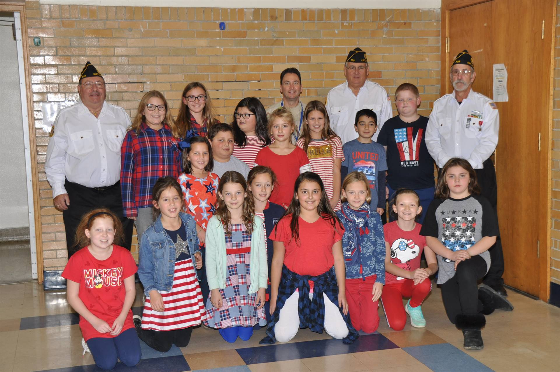 Veterans and KES Students