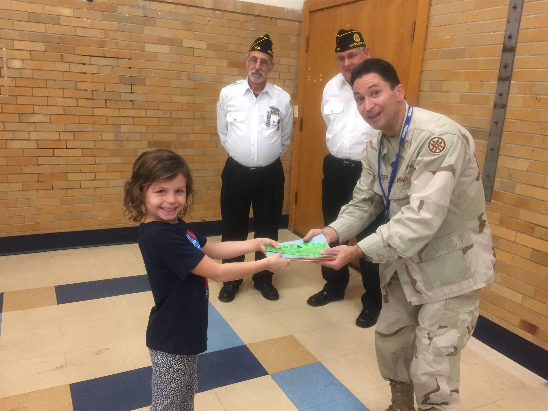 KES Veterans Visit