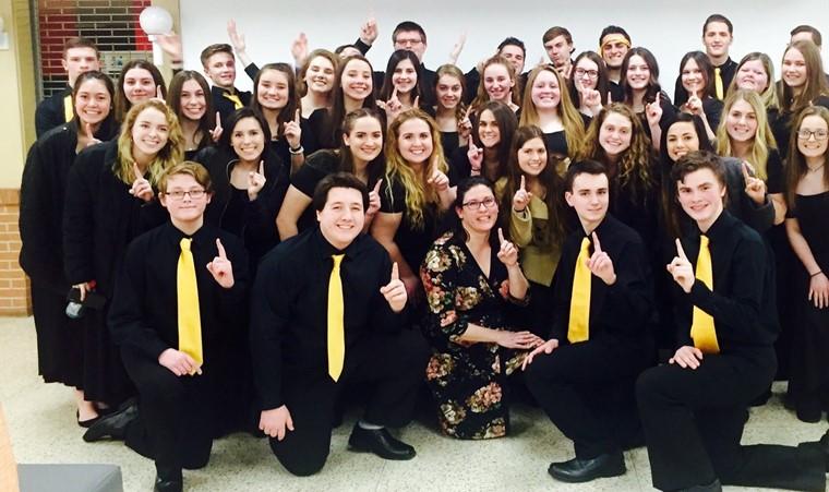 KHS Honors Choir State-Bound