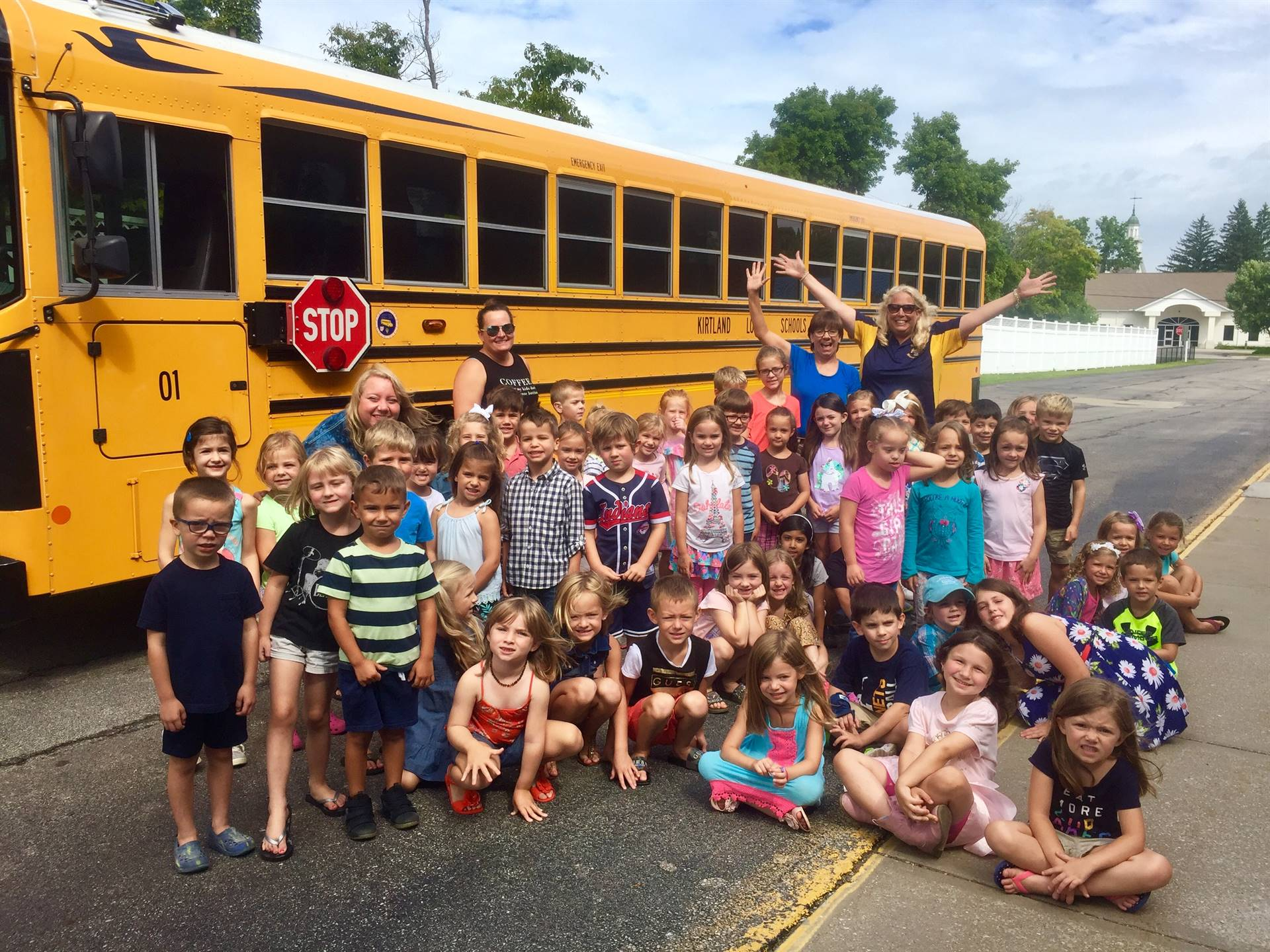 Kindergarten and New Student Bus Safety Presentation 8-16-18
