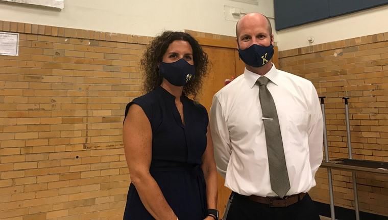 Mr. VanArnhem and Mrs. Nagaj